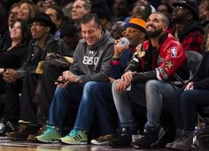 recap)    19 / 58 Rapper Drake, right, and Spike Lee, second from right, watch the game from front row court side seats during first half NBA All-Star Game basketball action in Toronto on Sunday, Feb.14, 2016.