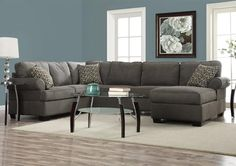 Gray Ideas On Pinterest Reclining Sofa Sectional