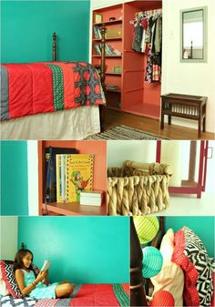 Create a room your kids will never want to leave with these easy, inexpensive ideas