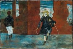 Ben Shahn (Lit. 1898-1969 US) Girl Skipping Rope (1943)