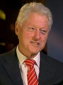 Famous Vegan President Bill Clinton (Converted after having heart attacks and bi-pass surgeries fail.)