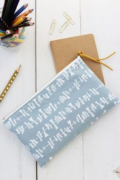 DIY Pencil Pouch sewing tutorial   alice & lois