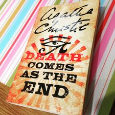 Death Comes As The End by Agatha Christie | 27 Books You'll Want To Read By The Pool This Summer