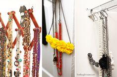DIY Jewelry Holders - livelaughrowe.com
