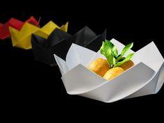 Fold – Origami Dish « Ponoko – Blog