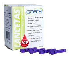 Lanceta para Lancetador 30g - G-Tech BioClassi