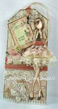 Prima doll tag by Adriana Lara Beltzer