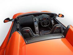McLaren 650S Spider - Interior detail - visit http://www.parks.uk.com/mclaren