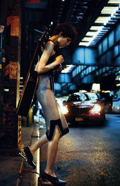 Sasha Luss, Fei Fei Sun, Vanessa Moody by Txema Yeste for Harper's Bazaar Spain October 2015 14