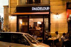 PasDeLoup, 108 rue Amelot, 75011 Paris. M° Filles du calvaire. Ouvert du mardi au dimanche de 18h à 2h.
