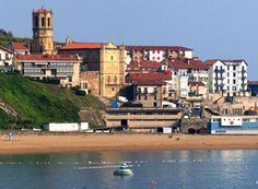 Getaria, txakoli, pueblo pesquero, costa vasca, País Vasco, España