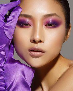 """7,145 Likes, 219 Comments - Danessa Myricks Beauty (@danessa_myricks) on Instagram: """"✨Ultra violet vibes ✨Pt2 Colorfix Smoky Eyes in Majesty & Wild Orchid . Makeup: Danessa_Myricks…"""""""