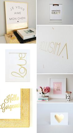 Gold Foil Etsy Prints 2