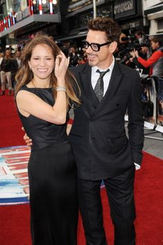 Robert & Susan @ the Premier of Iron Man 3 in London 4/18/13