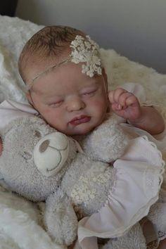 Newborn Babies, Hair Painting, Laura Lee, Reborn Dolls, Baby Sleep, Art Dolls, Beautiful, Bebe, Newborns
