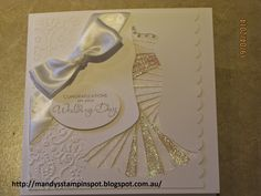 stampin up awards 2014 | Iris Folding Wedding Dress