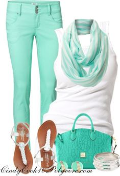 """""""MInty"""" by cindycook10 on Polyvore"""