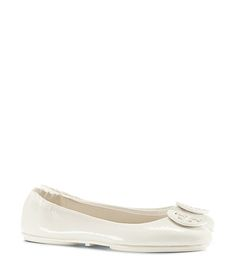 IN MY CART! Tory Burch Minnie Travel Ballet Flat, Patent Leather