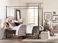 Birch Lane: Farmhouse & Traditional Furniture - Made to Last Decor, Furniture, Traditional Furniture, Canopy Bed, Home Decor, Bed, Bedroom Setup, Duvet Cover Pattern, Single Duvet Cover