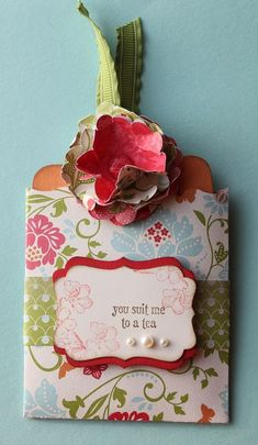 Stampin' Up! Fancy Favor Box Stampin' Up! Tag
