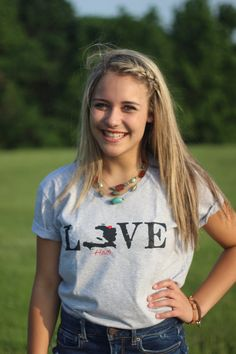 Ladies' Love Haiti T-shirts by lovehaiti2015 on Etsy