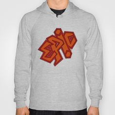 EPiC on red Hoody by TheCore - $38.00
