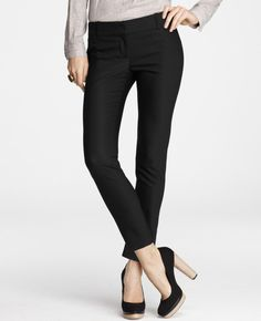 Crop dress pants