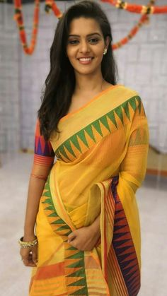 In a yellow color saree and pink color elbow length sleeve blouse design Beautiful Girl In India, Beautiful Girl Photo, Most Beautiful Indian Actress, Beautiful Saree, Beautiful Models, Beautiful Women, Indian Photoshoot, Saree Photoshoot, Beauty Full Girl