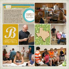 awesome project life pages from @familybees