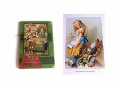 Alice in Wonderland RARE 1910 Lewis Carroll by seasidecollectibles #vogueteam #antiquebook