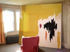 great art in ugly rooms // Clyfford Still,  Julia Kostreva Blog
