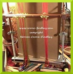 How to weave Inkle bands on the Mirrix Loom part 2-13 (c)