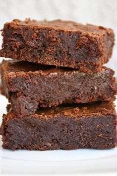 """And I quote, """"these are hands down the best brownies i have ever made! seriously!!! save this recipe!!"""" - From Pinterest user"""