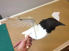 Stitches and Glue: Starling mechanical bird puppet- Shakespeare's Globe