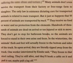 Really, this is what our society has come to accept. Fight for Compassion. Fight for Animal Rights. This is NOT OK.