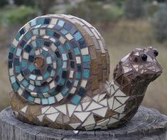 Learn How To Make A Mosaic Snail - Stunning Garden Art – The Mosaic Store