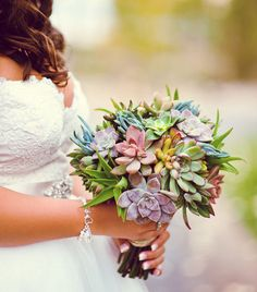 27 Unconventional Bouquets for the Non-Traditional Bride via Brit + Co.