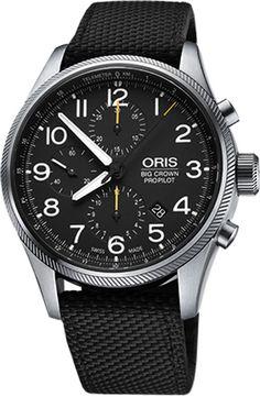 Oris Big Crown ProPilot Chronograph 77476994134FS-BLACK