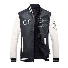 Brand New Motorcycle Leather Jackets Men Fashion Autumn Winter Leather Suede Clothing Men Jacket Fleece Lined Male Casual Coats #Affiliate