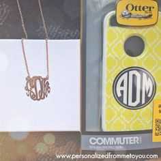 Two items every girl needs in her Monogram collection!