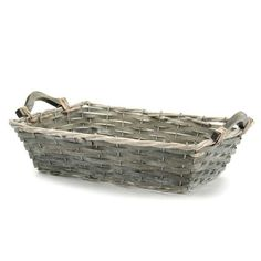 Willow Rectangular Tray 40Lx28Wx11Hcm #Floral #Baskets #Tray #Gift Hamper #Gifts #Oceans Floral Hamper, Oceans, Wicker, Baskets, Tray, Floral, Gifts, Presents, Hampers