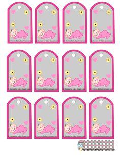 Baby Sleeping: Free Printable For Girl Kit.