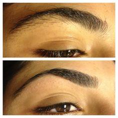Eyebrow threading @Raghad Al-agla Allie  #HowToThreadEyebrow #EyebrowThreading