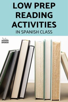 Need a new reading activity? Check out these quick, easy, and fun reading and listening activities for your middle school or high school Spanish classes! Four low prep lesson plan ideas that work with any reading. Great for individual, partner, or small group close reading! Plus, low energy, individual activities that are great for a sub plan! So simple to use but effective! Your world language students will love these activities! Listening Activities, Active Listening, Spanish Activities, Middle School Spanish, Spanish Class, 10 Sentences, World Language Classroom, Spanish Lesson Plans, World Languages