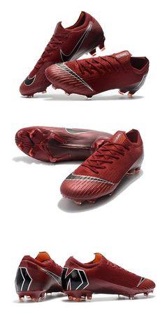 online store 8f251 a30af Nike Mercurial Vapor XII Elite FG Zapatos de Fútbol - Rojo Negro