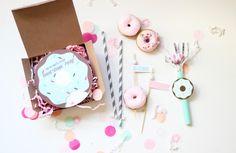 Free donut party invitation download. + make a donut party invite box, fun & inexpensive!