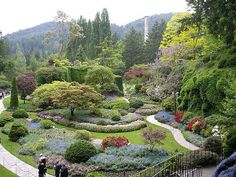 More from the beautiful Sunken Garden, The Butchart Gardens, Victoria