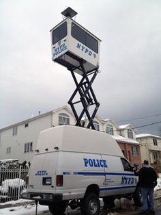 NYPD MUST Van ..Hurricane Sandy