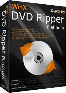WinX DVD Ripper Platinum 8 Crack is a powerful DVD ripper software for windows users. WinX DVD Ripper Platinum Crack lets you rip and extract dvds faster