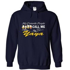 My Favorite People Call Me Yaya TShirts Version 2 - #sweater for teens #maroon sweater. SECURE CHECKOUT => https://www.sunfrog.com/Names/My-Favorite-People-Call-Me-Yaya-TShirts-Version-2-9808-NavyBlue-19546478-Hoodie.html?68278